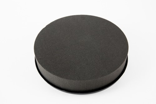 OASIS® EYCHENNE® ALL BLACK™ KUSSEN 38 cm Oasis Black Zwart steekschuim Oase