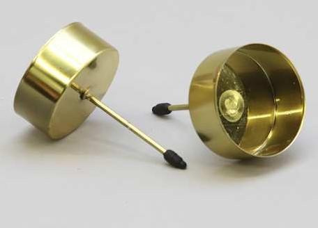 Waxinelichthouder / stuk - 233360 goud Diverse kleuren beschikba