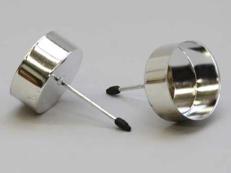 WaxinelichthouderZilver / stuk - 233361 zilver Meerdere kleuren beschikb