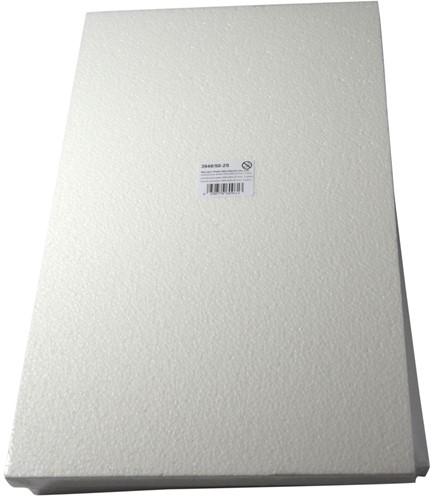 Styropor plaat 30*50*2 cm. dik Styropor plaat