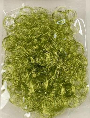 Engelenhaar Curly 10 gram. Lime green Engelenhaar Cur