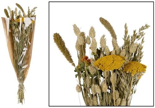 Dried flower bouquet - Multi Boeket in krafthoes