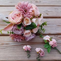 Voorpag - Banner - Boeket roze