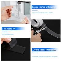 Magic Nano Fix tape 3cm breed rol 3 meter voor auto, glas, hout, metaal, tegels, stof-2
