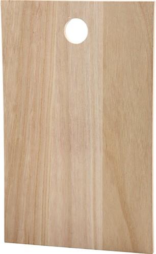 Snijplank bord afm 35x22 cm 13mm dik uithangbord rechthoek