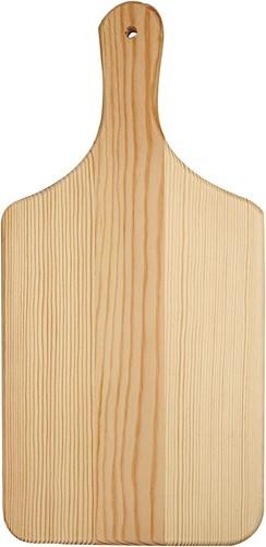 Snijplank l: 28 cm b: 14 cm grenen dikte 1 cm voor toef