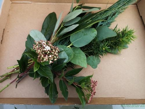 KerstToef Med met Pinus en Taxus door de brievenbus Een groet die iets doet