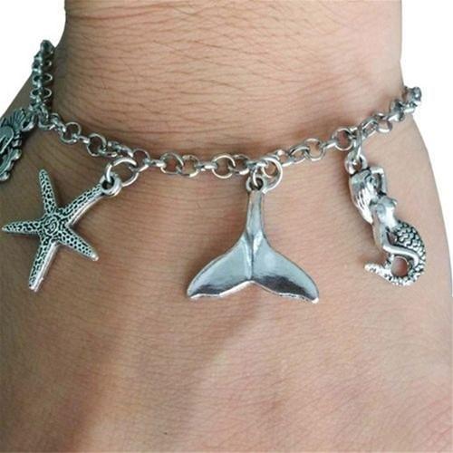 Bedels Ocean Zilverkleurig voor sieraden, mix +/- 55st Gemengde maten-2