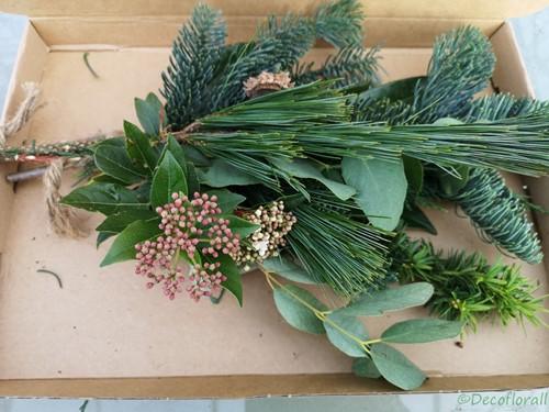 KerstToef Med met Pinus+Taxus+Nobilus door de brievenbus Een groet die iets doet