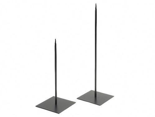Metaalstaander Metalen pin standaard SOLID +/-18cm. /HOOG 40cm. Standaard lange pin