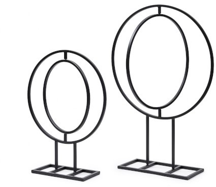 Frame rond Frame Round 50x38cm 1pc (movable) Op voet