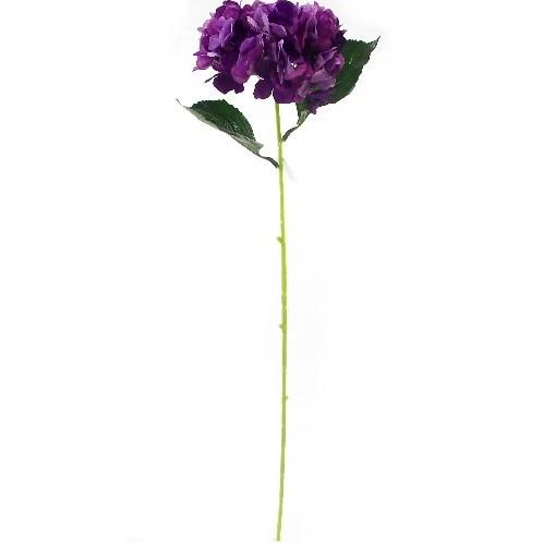 Hortensia HYDRANGEA PURPLE 78 cm. Hortensia Paars