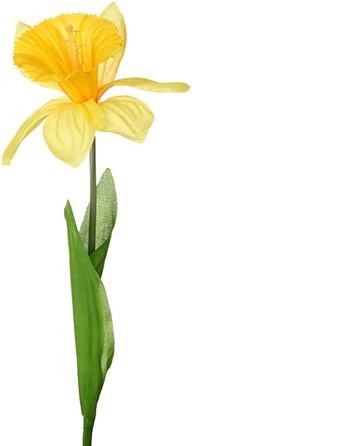 Narcis zijdebloem Geel / stuk Narcis zijdebloem Geel