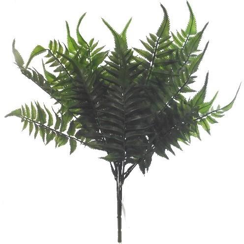 Varen fern bush donkerGroen 47 cm. Varen