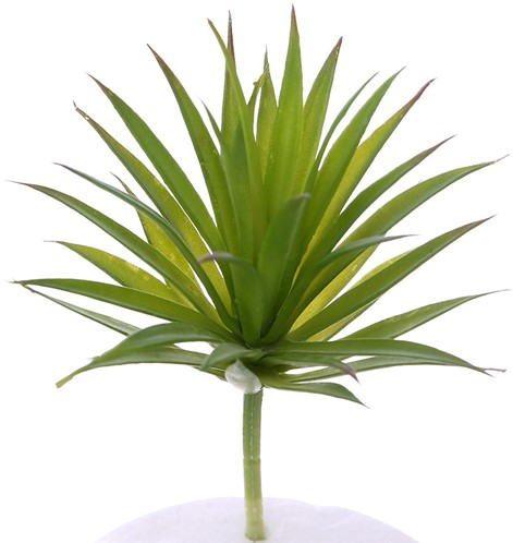 19cm. ARTIFICIAL SUCCULENT GREEN Succulent