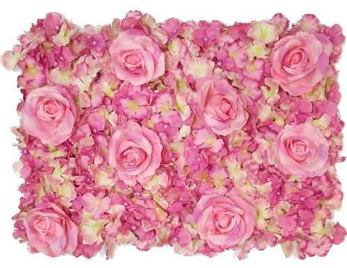 Flowerwall Flower Wall 40*60cm. 3D PINK/CREAM  Flowerwall
