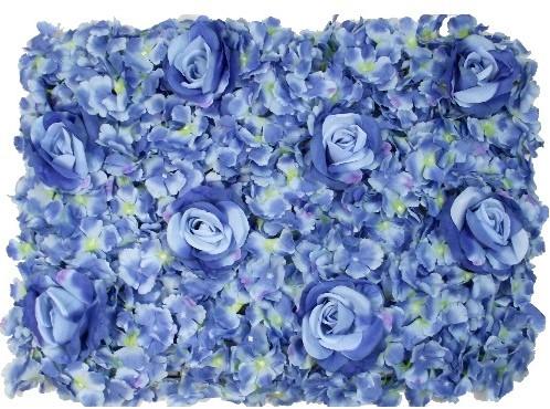 Flowerwall Flower Wall 40*60cm. 3D Blue Flowerwall