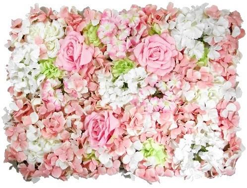 Flowerwall Flower Wall 40*60cm. 3D Blue Flowerwall Green/ivory/pink
