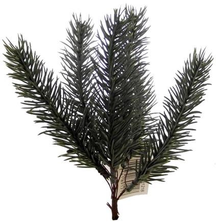 KerstGroen guirlande DennenGroen 200 cm. 12 bundels van 6