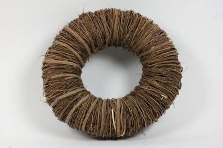 Krans Mactan Grass Naturel 45cm. twijgenkrans