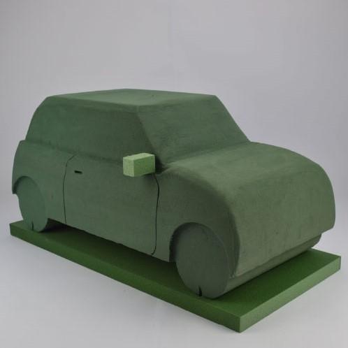 Auto 3D Type, Mini steekschuimvorm 80 x 30 cm. Auto  Steekschuim