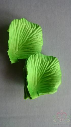 Blad zijde blaadjes LichtGroen rozenblaadjes pakje Blad zijde blaadjes Licht