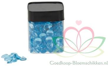 Diamondstone/ Diamantsteentjes Turquoise 12mm pot210ml Diamond stone