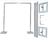 Standaard frame voor Flowerwall +/- 3*3 m kleine manco Flower wall Flowerwall