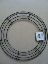 Metalen frame voor kransen rond 8'' = +/- 20 cm.' Metalen frame