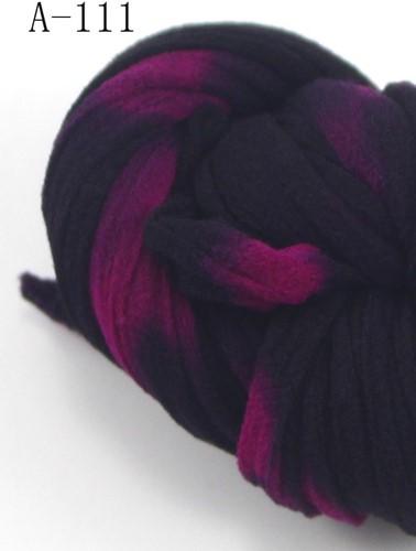 Nylon111 Burgundy-Aubergine2tone voor het maken van bloemen Nylon