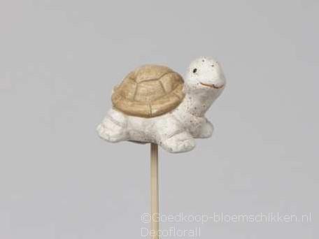 Bijsteker schildpad op stok doos per st bijstekers