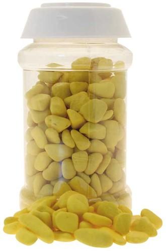 Decoratiesteentjes 500Gm 8-12Mm Pebble Yellow Steentjes