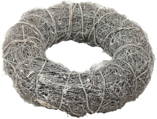 Krans Strictus 42cm White wash dikke krans diameter 42cm
