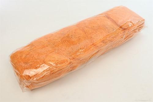 Sisal gebleekt zak +/- 500gram.  Cocos Fiber 500gr gekleurd