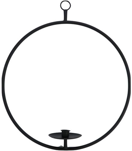 Frame Ronde Candle Hold. Ring HANG Balance Floral 52 cm Rond frame