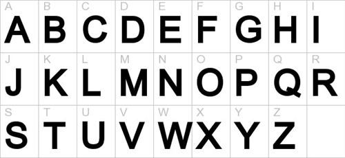 Alfabet Styropor Piepschuim letter