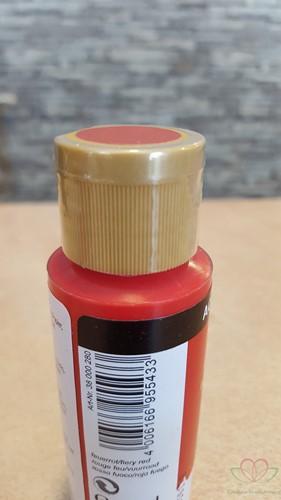 Allesverf Acryl 59 ml Vuurrood Acrylverf