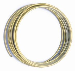 Alu flexwire alu/slvr2 mm 2. 5meter SAND Alu flex wire
