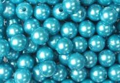 aParels Rijgparels 20 mm +/- 50 gram. WM - lime appelgroen 01 Parels Rijgpare