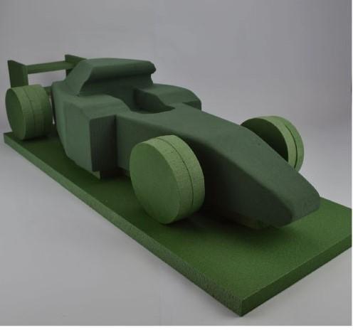 Auto 3D FORMULE1 steekschuimvorm 92cm. x 26cm. x 20cm. Auto Oase Steekschuim