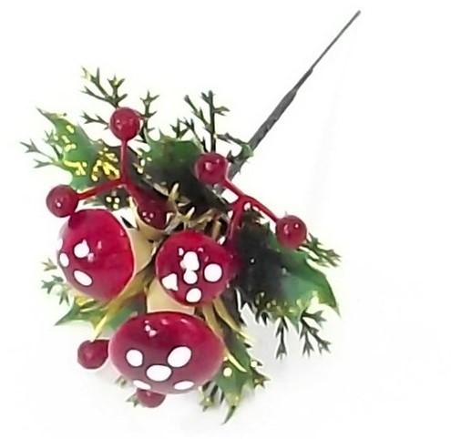 Herfst Kerstbijsteker XMAS Paddenstoel en besjes XDOOS 96pcs Herfst Kerstbijsteker App