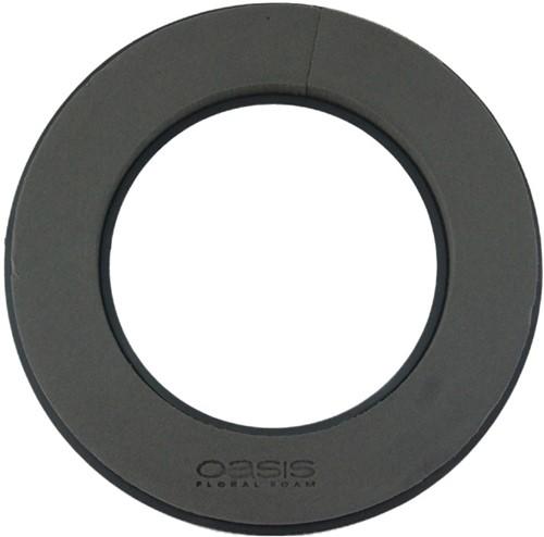Oasis® Eychenne® ALL BLACK™ Krans 40cm Oasis Black Zwart steekschuim Oase