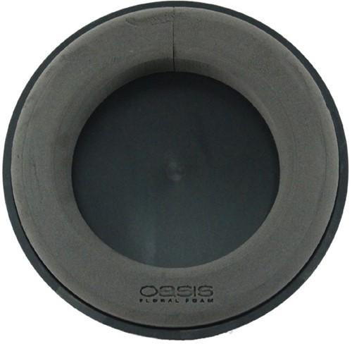 Oasis® Eychenne® ALL BLACK™ Krans 35cm Oasis Black Zwart steekschuim Oase