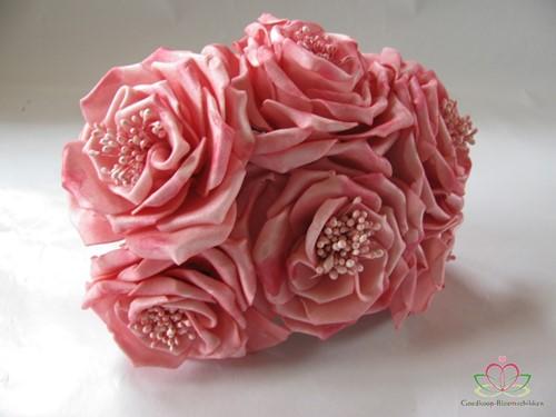 Wild Rose7 cm. Roze / bundel op=op Wild Rose