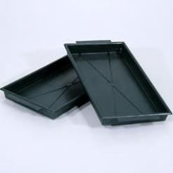 Brick tray 1/124*12. 5 cm.wit of Groen  - groen 33303 voor 1 groot bl