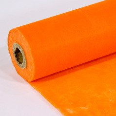 Colorflor PER ROL 25 meter diverse kleuren - orange 24 Colorflor PER ROL 25 mete