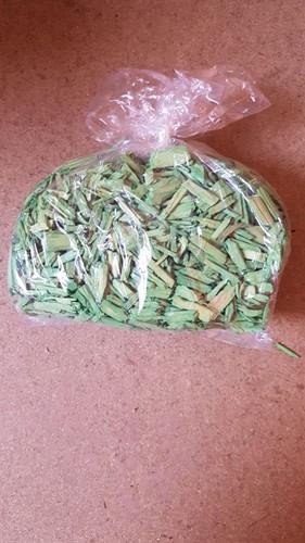 Actie Houtsnippers lichtgroen +/- 200 gr Gekleurde houtsnippertjes