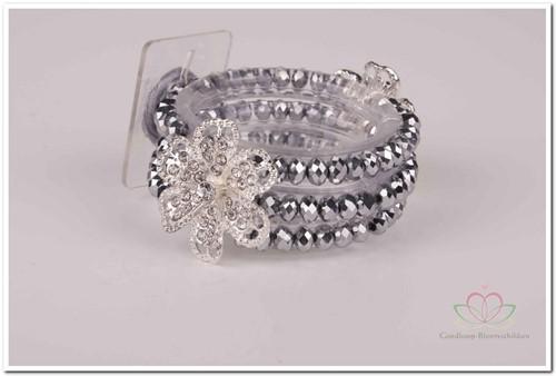 Corsage Polscorsage Diamond Zilver Polscorsage