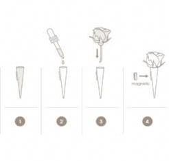 Corsagehouder Flowerdarte  / stuk