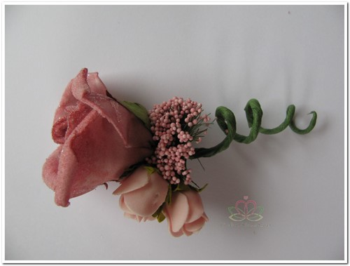 Corsage Roos OudRose CEM14 Corsage Roos CEM14